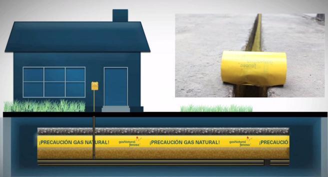 PCQ dibujo gas natural