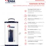 Ficha Calentador Cinsa