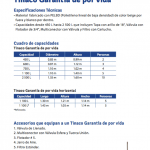 Ficha Tinaco Rotoplas