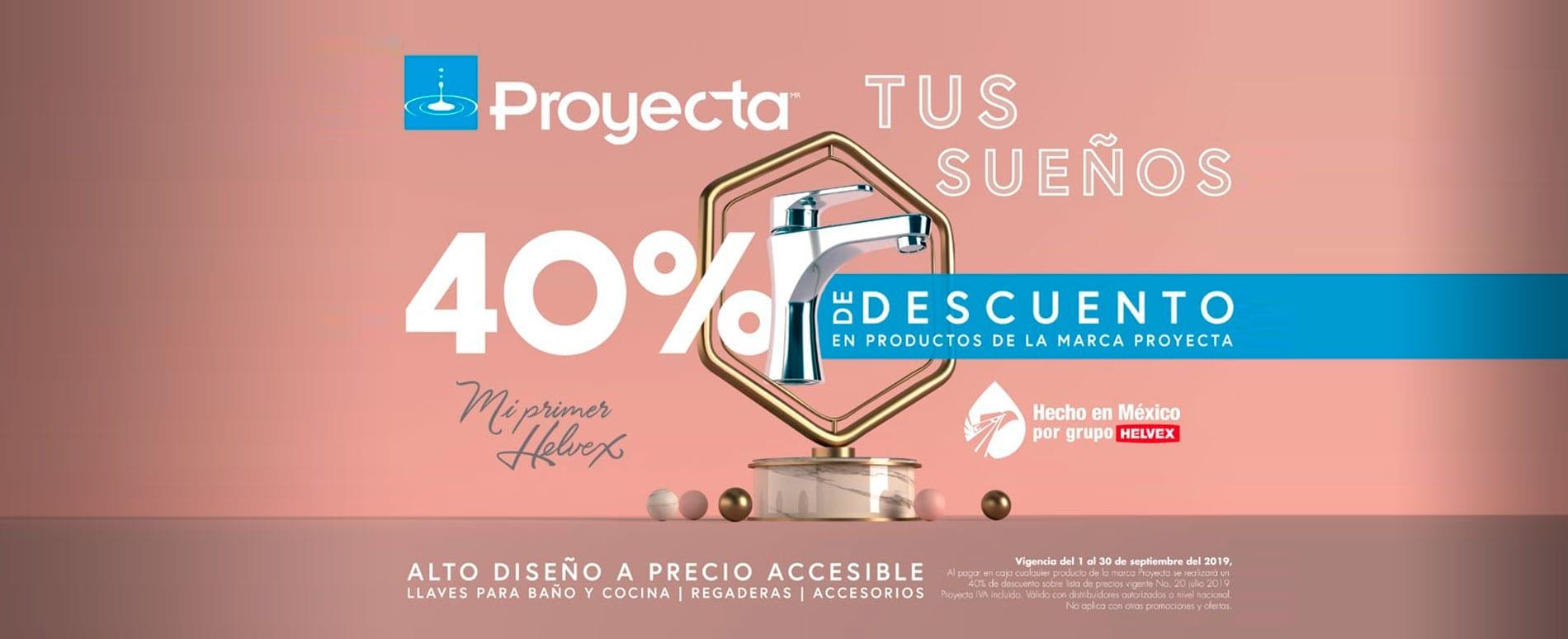Promo Plomería y Cerámica Septiembre 2019